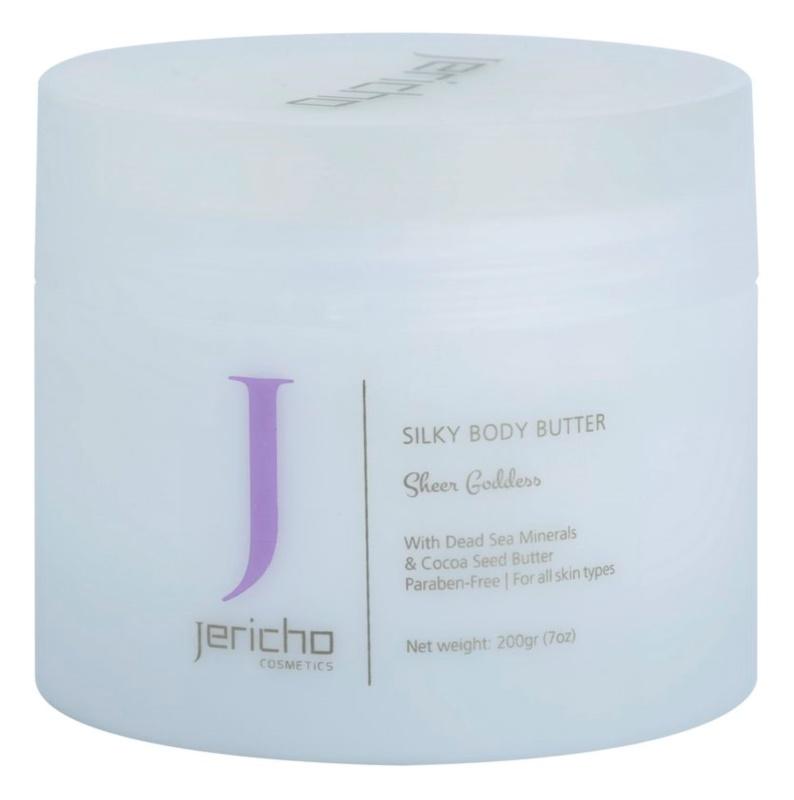 Jericho Body Care unt  pentru corp pentru piele neteda si delicata