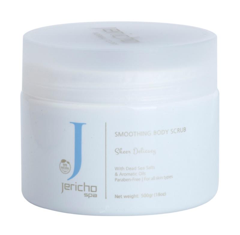 Jericho Body Care SPA сіль-скраб для підвищення тонусу з морськими екстрактами та есенціальними маслами