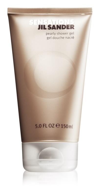 Jil Sander Sensations sprchový gel pro ženy 150 ml