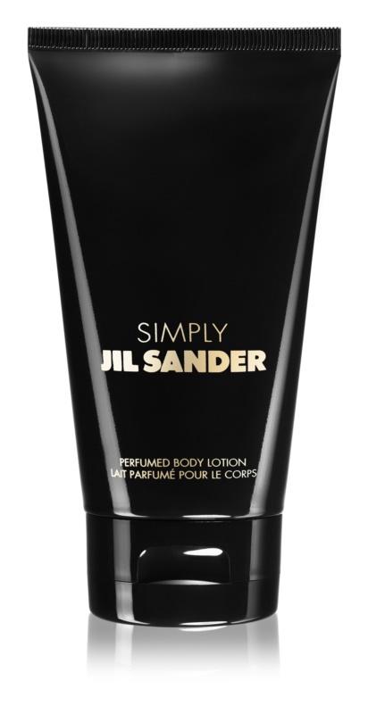 Jil Sander Simply lotion corps pour femme 150 ml