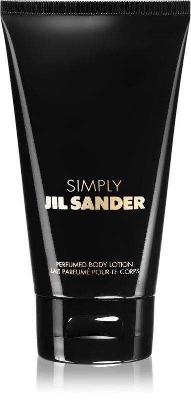 Jil Sander Simply mleczko do ciała dla kobiet 150 ml