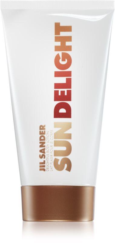 Jil Sander Sun Delight telové mlieko pre ženy 150 ml