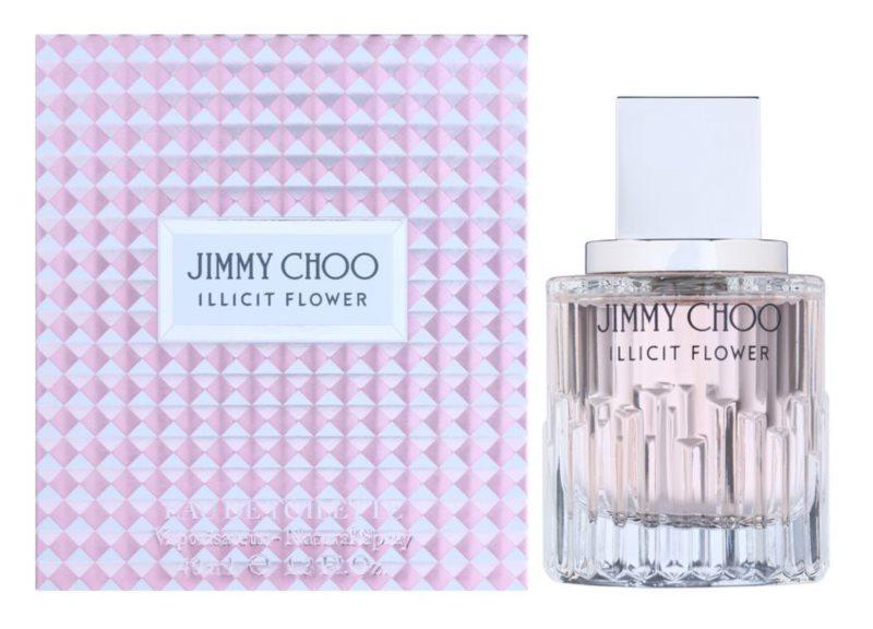 Jimmy Choo Illicit Flower Eau de Toilette para mulheres 40 ml