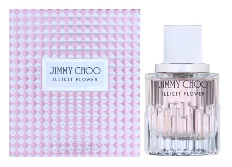Jimmy Choo Illicit Flower toaletná voda pre ženy 40 ml