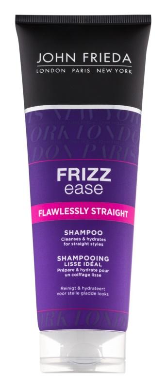 John Frieda Frizz Ease Flawlessly Straight shampoo voor het glad maken en de hydratering van het haar