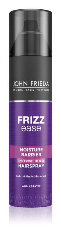 John Frieda Frizz Ease Moisture Barrier lak z močno fiksacijo za valovite lase in lase s trajno ondulacijo