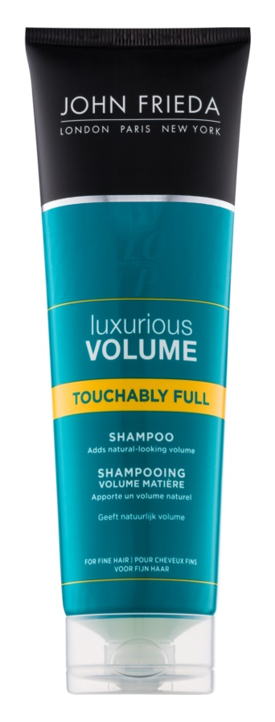 John Frieda Luxurious Volume Touchably Full champú para dar volumen