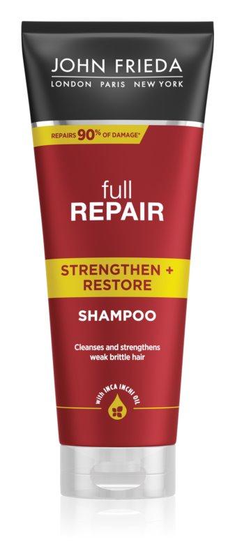 John Frieda Full Repair Strengthen+Restore šampon za okrepitev las z regeneracijskim učinkom