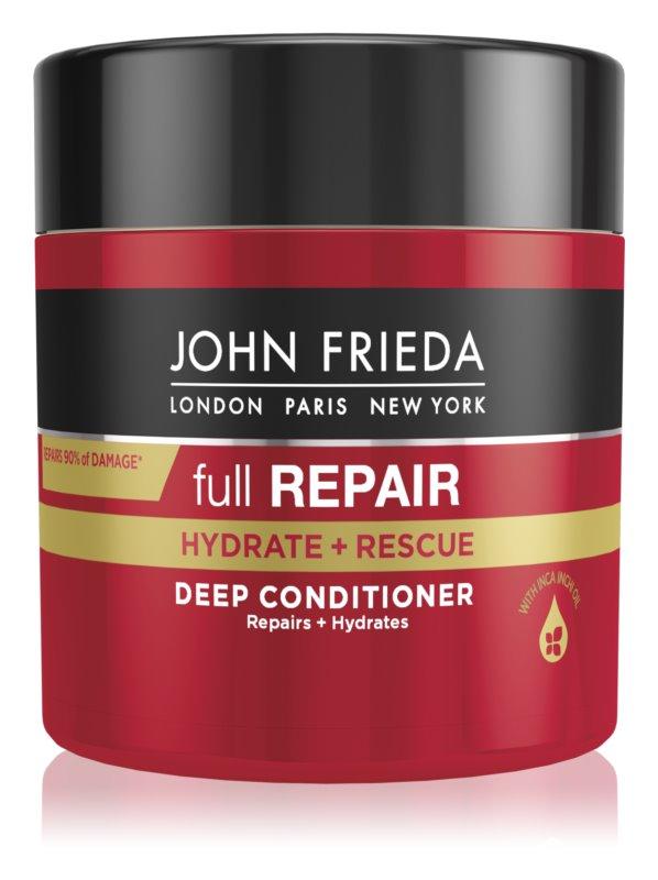 John Frieda Full Repair Hydrate+Rescue globinsko regeneracijski balzam z vlažilnim učinkom
