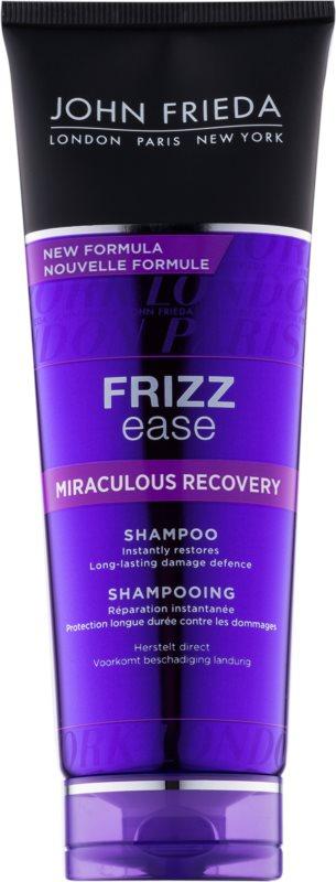 John Frieda Frizz Ease Miraculous Recovery erneuerndes Shampoo für beschädigtes Haar