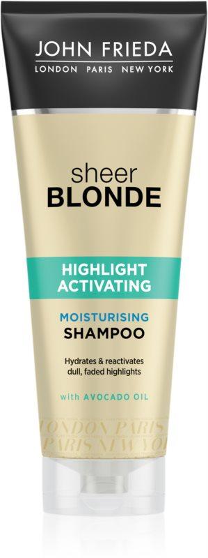 John Frieda Sheer Blonde Highlight Activating hydratační šampon pro blond vlasy