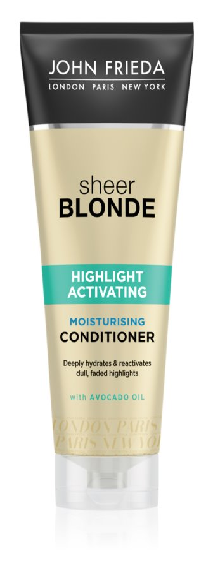 John Frieda Sheer Blonde Highlight Activating Moisturizing Conditioner for Blonde Hair