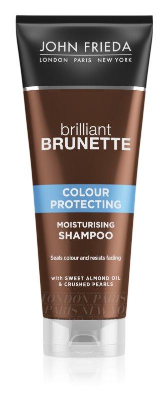 John Frieda Brilliant Brunette Colour Protecting vlažilni šampon