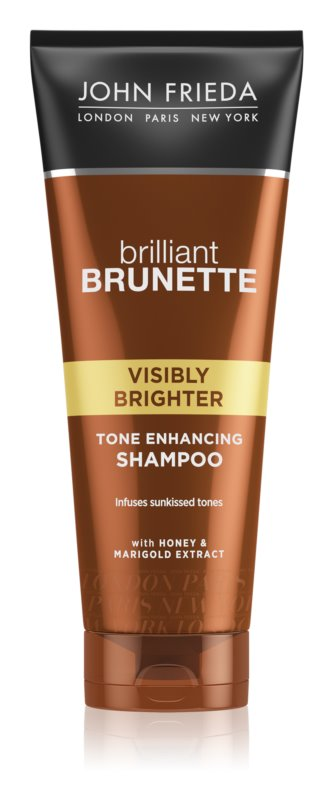 John Frieda Brilliant Brunette Visibly Brighter kondicionér pro lesk