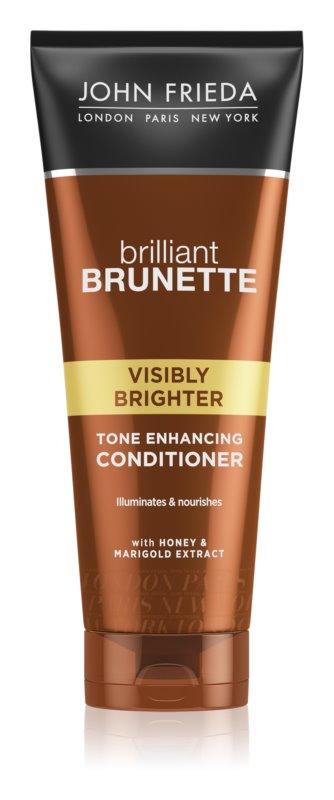 John Frieda Brilliant Brunette Visibly Brighter Shampoo für höheren Glanz