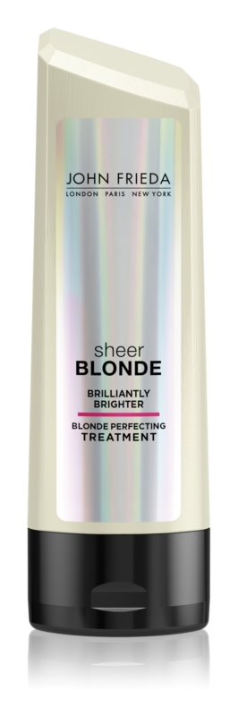 John Frieda Sheer Blonde Brilliantly Brighter balzam za blond lase in lase s prameni