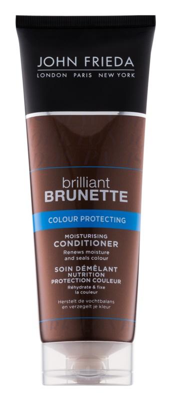 John Frieda Brilliant Brunette Colour Protecting condicionador hidratante