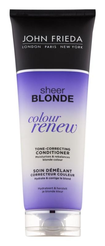 John Frieda Sheer Blonde Colour Renew Tönungsconditioner für blonde Haare