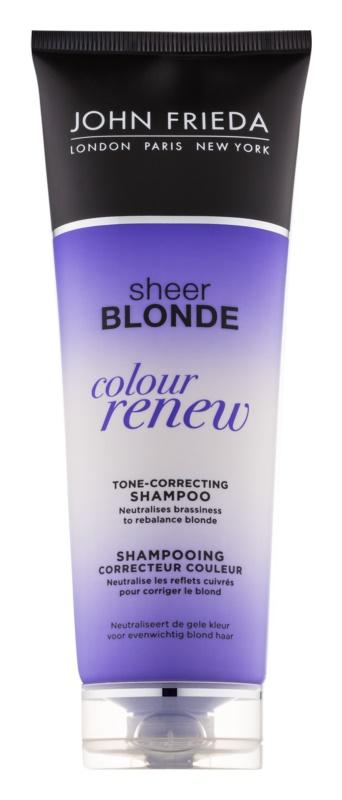 John Frieda Sheer Blonde Colour Renew tónovací šampón pre blond vlasy