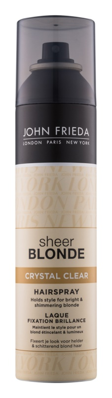 John Frieda Sheer Blonde Crystal Clear Lack für blondes und meliertes Haar