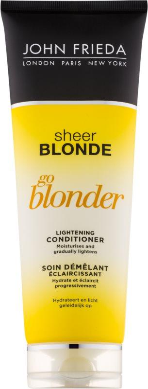 John Frieda Sheer Blonde Go Blonder balsam decolorant pentru par blond