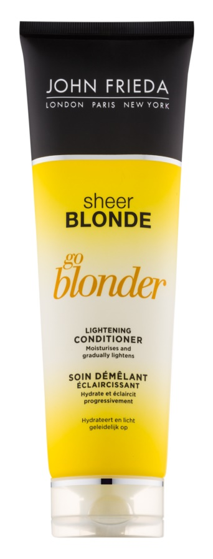 John Frieda Sheer Blonde Go Blonder posvetlitveni balzam za blond lase