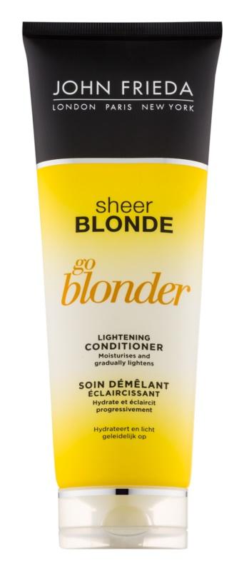 John Frieda Sheer Blonde Go Blonder zesvětlující kondicionér pro blond vlasy