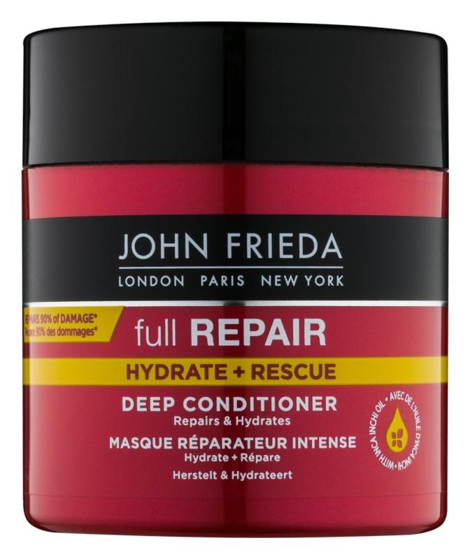 John Frieda Full Repair Hydrate+Rescue regenerierender Conditioner mit Tiefenwirkung mit feuchtigkeitsspendender Wirkung