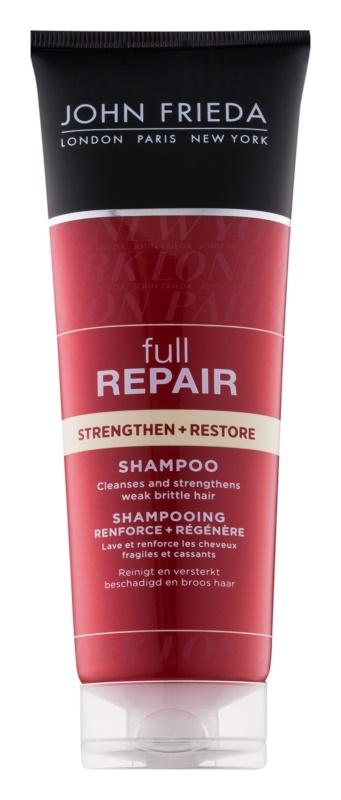John Frieda Full Repair Strengthen+Restore champô reforçador com efeito regenerador