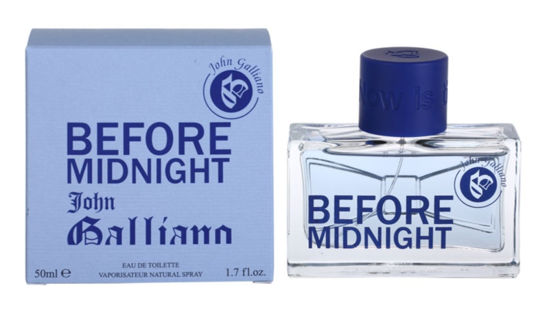 John Galliano Before Midnight Eau de Toilette for Men 50 ml
