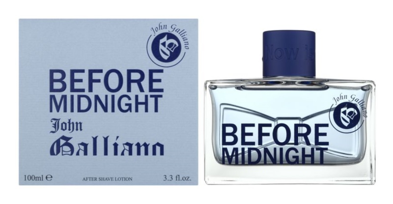 John Galliano Before Midnight After Shave  για άνδρες 100 μλ