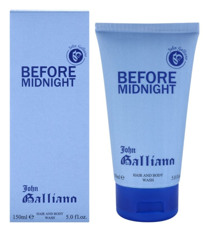 John Galliano Before Midnight gel de duche para homens 150 ml
