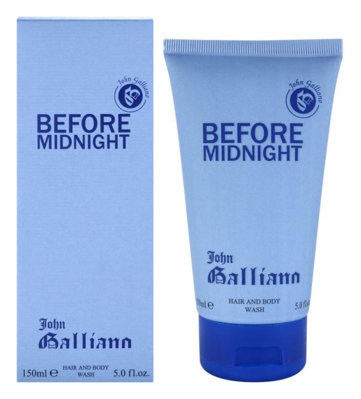 John Galliano Before Midnight sprchový gél pre mužov 150 ml