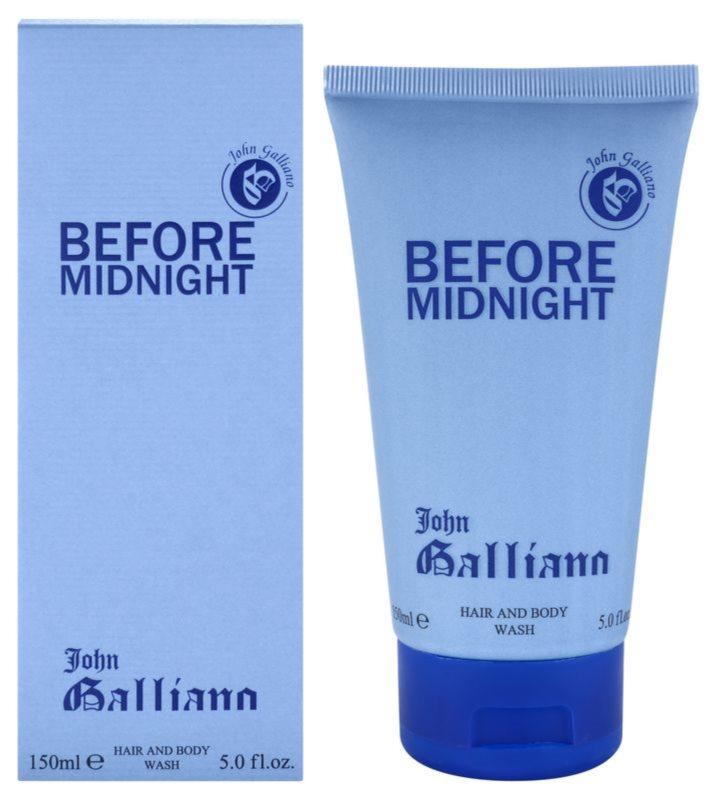 John Galliano Before Midnight tusfürdő férfiaknak 150 ml