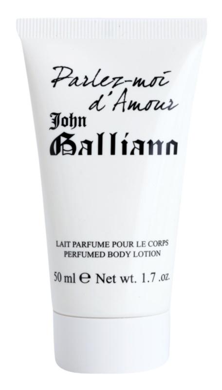 John Galliano Parlez-Moi d'Amour telové mlieko pre ženy 50 ml tester