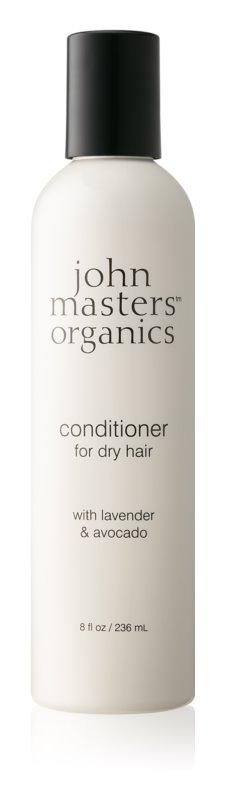 John Masters Organics Lavender & Avocado balzam za suhe in poškodovane lase