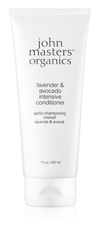 John Masters Organics Lavender & Avocado odżywka o silnym działaniu do włosów suchych i zniszczonych