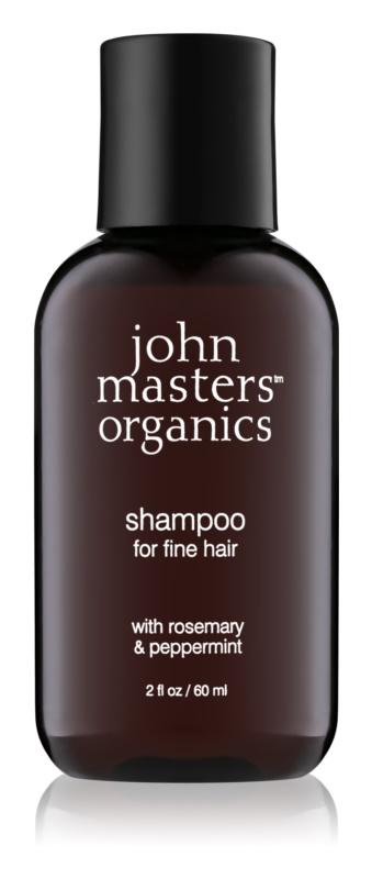 John Masters Organics Rosemary & Peppermint šampon pro jemné vlasy