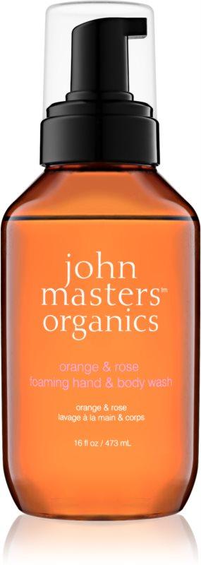 John Masters Organics Orange & Rose мило-піна для рук і тіла