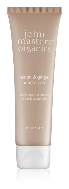 John Masters Organics Lemon & Ginger krém na ruky