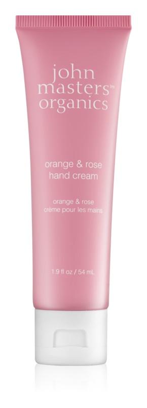 John Masters Organics Orange & Rose crema de maini