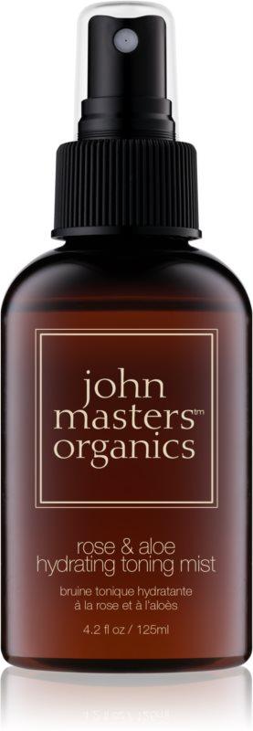 John Masters Organics All Skin Types vlažilni tonik v pršilu