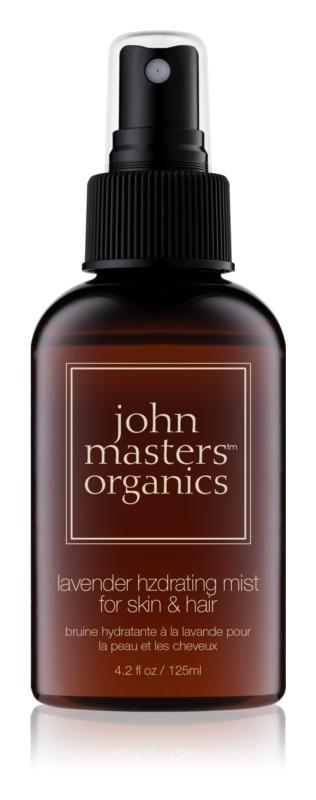 John Masters Organics All Skin Types hydratační mlha na obličej a vlasy