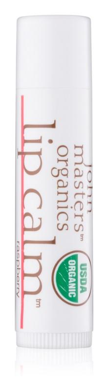 John Masters Organics Lip Calm Raspberry balzam za ustnice