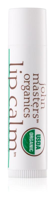John Masters Organics Lip Calm Peppermint Lip Balm