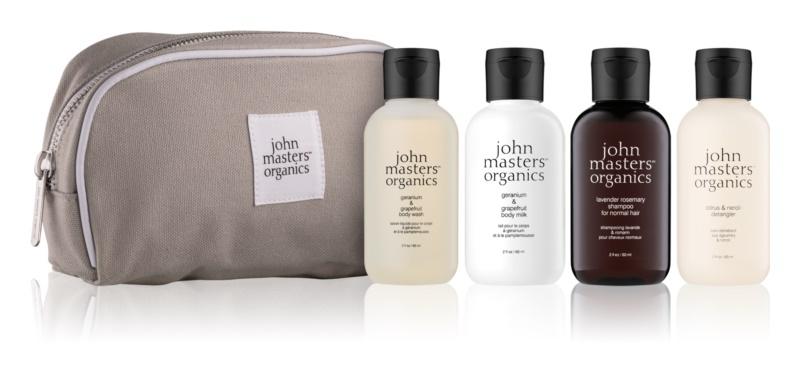 John Masters Organics Travel Kit Hair & Body Kosmetik-Set  I.