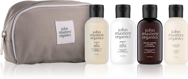 John Masters Organics Travel Kit Hair & Body kozmetická sada I.