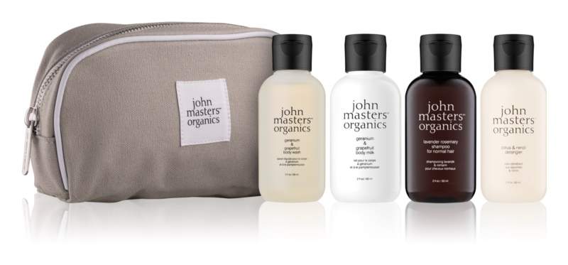 John Masters Organics Travel Kit Hair & Body set cosmetice I.