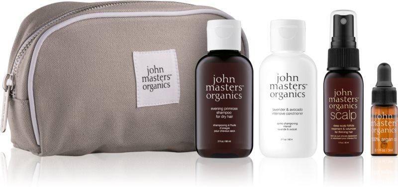 John Masters Organics Travel Kit Dry Hair Cosmetic Set III.