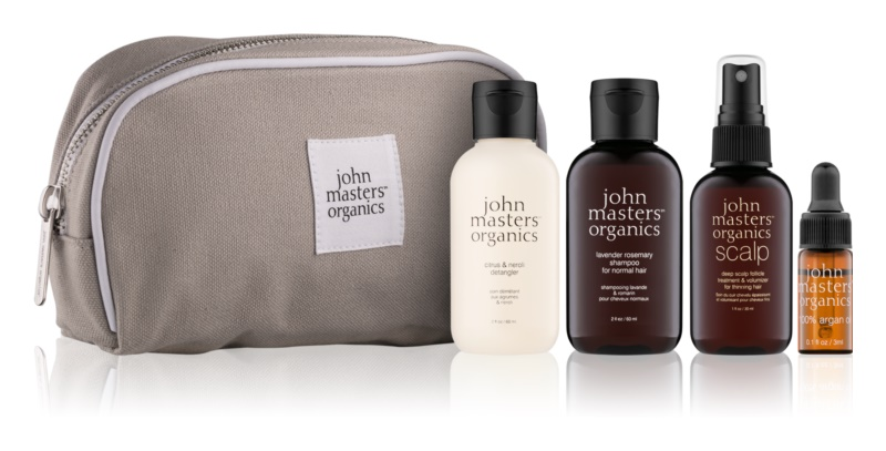 John Masters Organics Travel Kit Normal Hair kosmetická sada II.